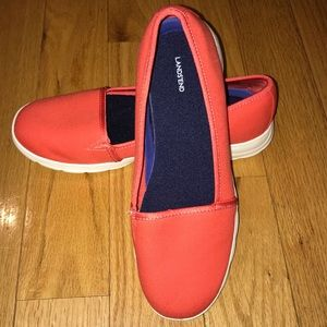 Lands' End Comfort Step Slip On Shoes
